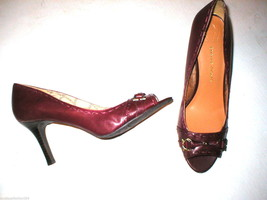 New Womens 10 Etienne Aigner Leather Heel Shoes... - $129.00