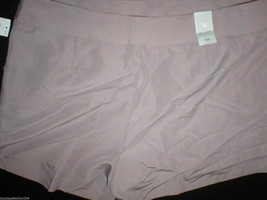 New Womens Gap $50 Office Dress Shorts 14 Light Brown Rayon Silky Work NWT Nice image 3