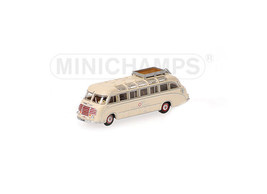 Setra S8 (Taeter and Ziemons 1953) Diecast Model Bus 169030081 - $29.78