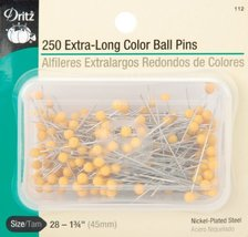 Blenders (Countertop) Dritz 134Inch Extra Long Color Ball Pins 250 Count... - $13.89