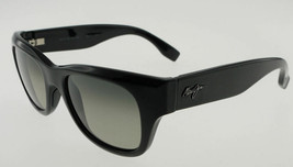 Maui Jim Kahoma Gloss Black / Neutral Gray Sunglasses 285-02 - $177.21