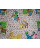 Sesame Street Twin Comforter Big Bird Cookie Monster Oscar Bert Apples S... - $99.95