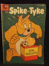 MGM'S Spike and Tyke #7 A Vtg. September-November 1956 Dell Comic Book   - $4.99