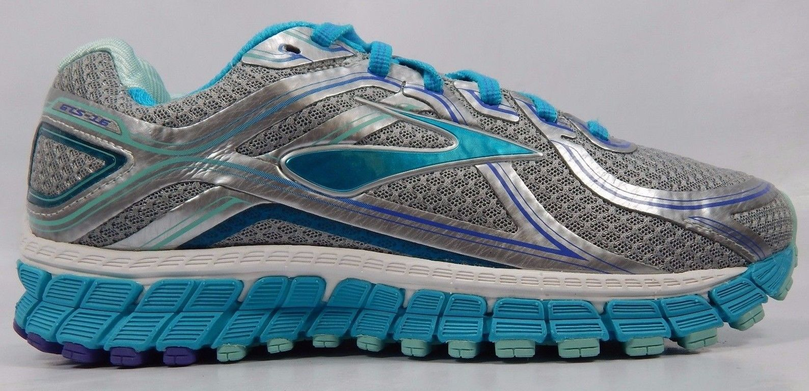 Brooks GTS 16 Women's Running Shoes Size US 8 M (B) EU 39 1202031B170 Silver