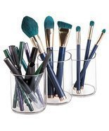 InterDesign Clarity Cosmetic Organizer Trio Cup for Vanity Cabinet to Hold - £12.98 GBP