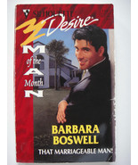 That Marriageable Man! by Barbara Boswell (1998, Paperback) - $4.89
