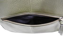 Women's Leather Handbag Embroidered Tribal Pattern Strap Shoulder Purse image 10