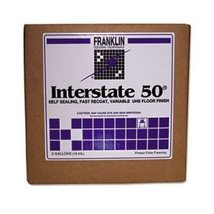 Interstate 50 Variable UHS Commercial Floor Wax, 5 Gallon Cube  - $135.21