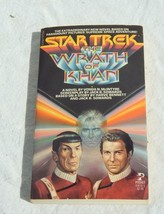 Star Trek The Wrath of Khan Paperback Vonda McIntyre 1982 Pocket Books U... - $24.74