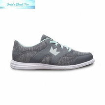 Brunswick Ladies Karma Sport Bowling Shoes- Grey/Mint 10, - $65.22