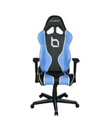 DXRacer OH/RZ177/NBW/OBEY High-Back Racing Seat Gaming Chair PU(Black/Blue) - $379.00