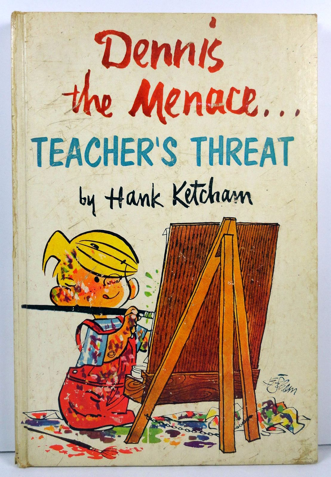 Primary image for Dennis the Menace Teacher's Threat by Hank Ketcham 1959 Holt