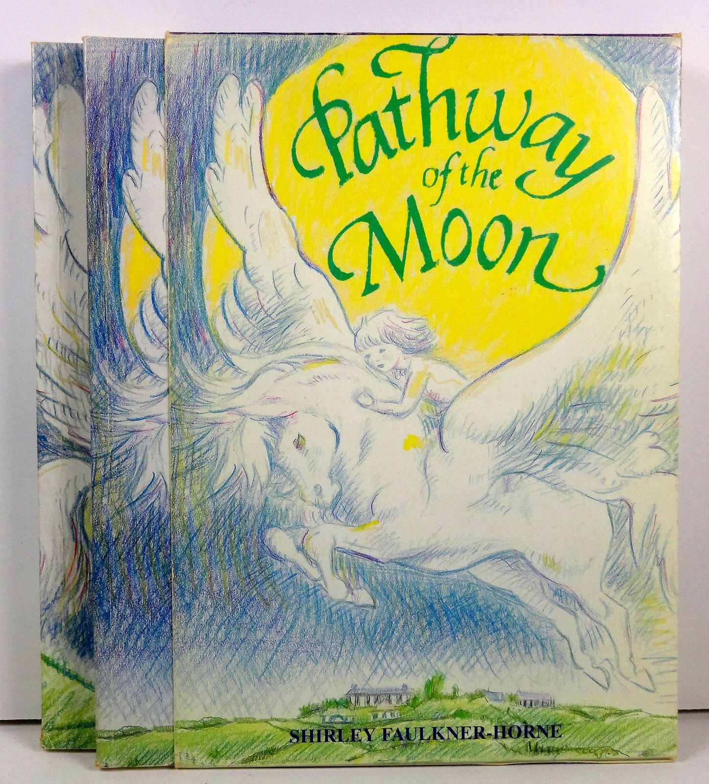 Pathway of the Moon  Pegasus and the Pony S. F. Horne Signed