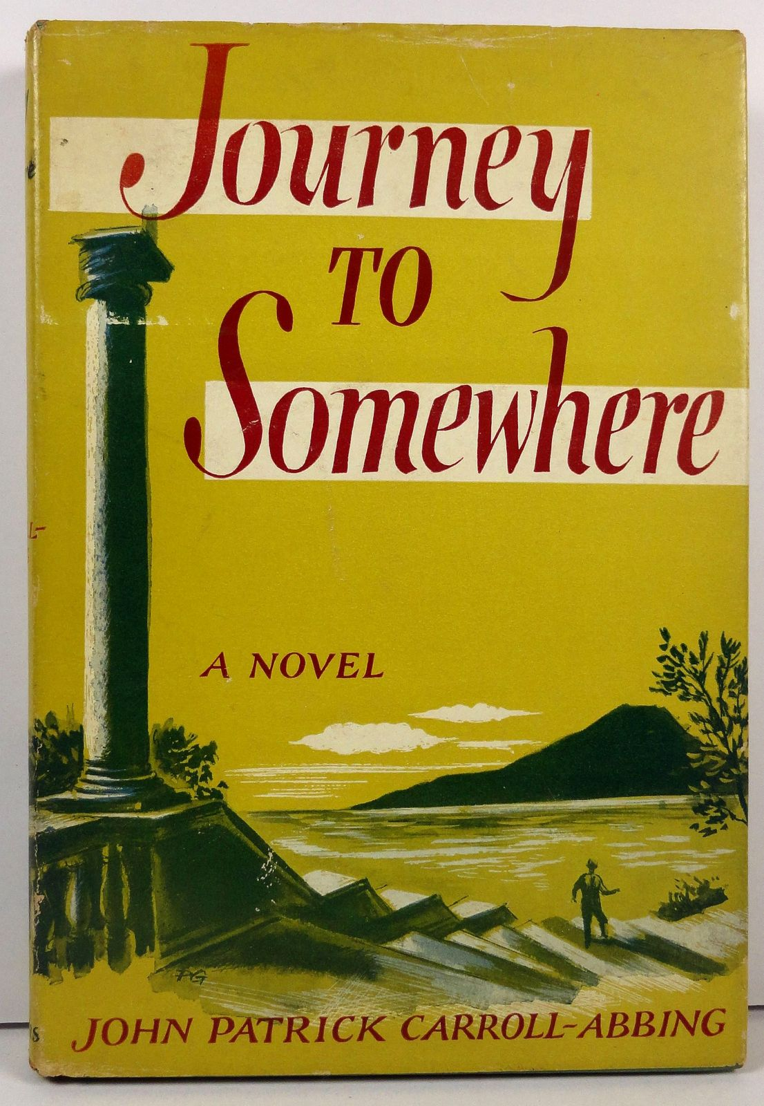 Primary image for Journey to Somewhere by John Patrick Carroll Abbing Signed