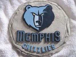 Memphis Tennessee Grizzlies NBA Basketball Garden Stepping Stone Wall Pl... - $10.00
