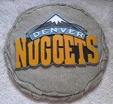 Denver Colorado Nuggets NBA Basketball Garden Stepping Stone Wall Plaque... - $10.00