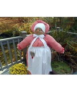 Vacuum Cleaner Cover Pioneer Grandma - red and white check gingham - $95.00