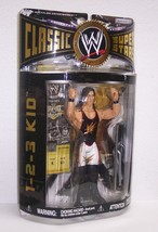 "2006 Jakk's WWE Classic Superstars Action Figure Series #11 ""1 2 3 Kid"" ... - $27.01"