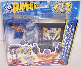 "New! WWE Rumblers Ringing Entrance Playset & ""Rey Mysterio"" Action Figur... - $13.02"