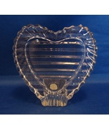 Small Photo Crystal Heart Shaped Frame-Yugoslavia - $9.99