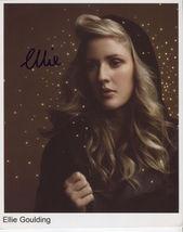 Ellie Goulding (Singer) SIGNED Photo + COA Lifetime Guarantee - $49.99