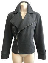 Lauren Ralph Lauren -Size M - Gray Women's Moto Jacket - Zipper Closure - $44.00