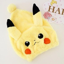 Plush toy cartoon animal hair cap strong absorptive long velvet ultra so... - $14.89