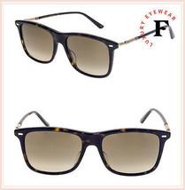 GUCCI WEB 0518 Havana Gold Brown Square Flex Retro Sunglasses GG0518S Unisex - $274.23