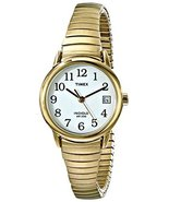 Timex Women's T2H351 Easy Reader Gold-Tone Stai... - $24.95