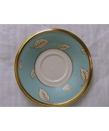 Lenox Aquamarine Saucer Dimension Collection White and Aqua Blue with Le... - $7.99