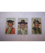 3 Vintage Little Cigars Trading Cards Countries... - $6.92