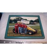 Framed Photo Of Bob Howard Sprint Car - $7.91