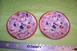 Vintage Nippon Saucer Hand Painted Geisha Girls Scene Japan - $12.86