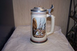 Vintage 1986 Avon Building Of America, Shipbuilder Beer Stein Made In Br... - $16.82