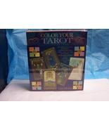 Color Your Tarot by Liz Dean - New - Tarot Cards - Body, Mind, Spirit - $14.99