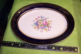 Salem China Aristocrat Royal Blue Dinner Plate ... - $15.83