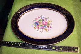 Salem China Aristocrat Royal Blue Dinner Plate ... - $20.78