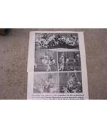 Vintage November 21 1958 Timely Events Picture Newspaper For 4 NFL Teams - $6.92