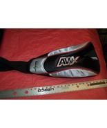 New Walter Hagen #1AWX Wood / Iron Golf Club Head Cover Silver / Red Trim - $7.91