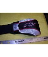 New Walter Hagen AWX 5i Wood / Iron Golf Club Head Cover Silver / Red Trim - $6.92