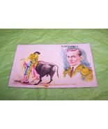 Vintage Artist Signed Embroidered Post Card Mar... - $6.92