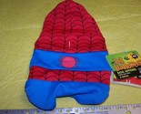 New Marvel Comics Halloween Pet Costume Spider Man Size Large
