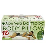 As Seen on TV Aloe Vera Bamboo Body Pillow with Pressure Relieving Memor... - $41.99