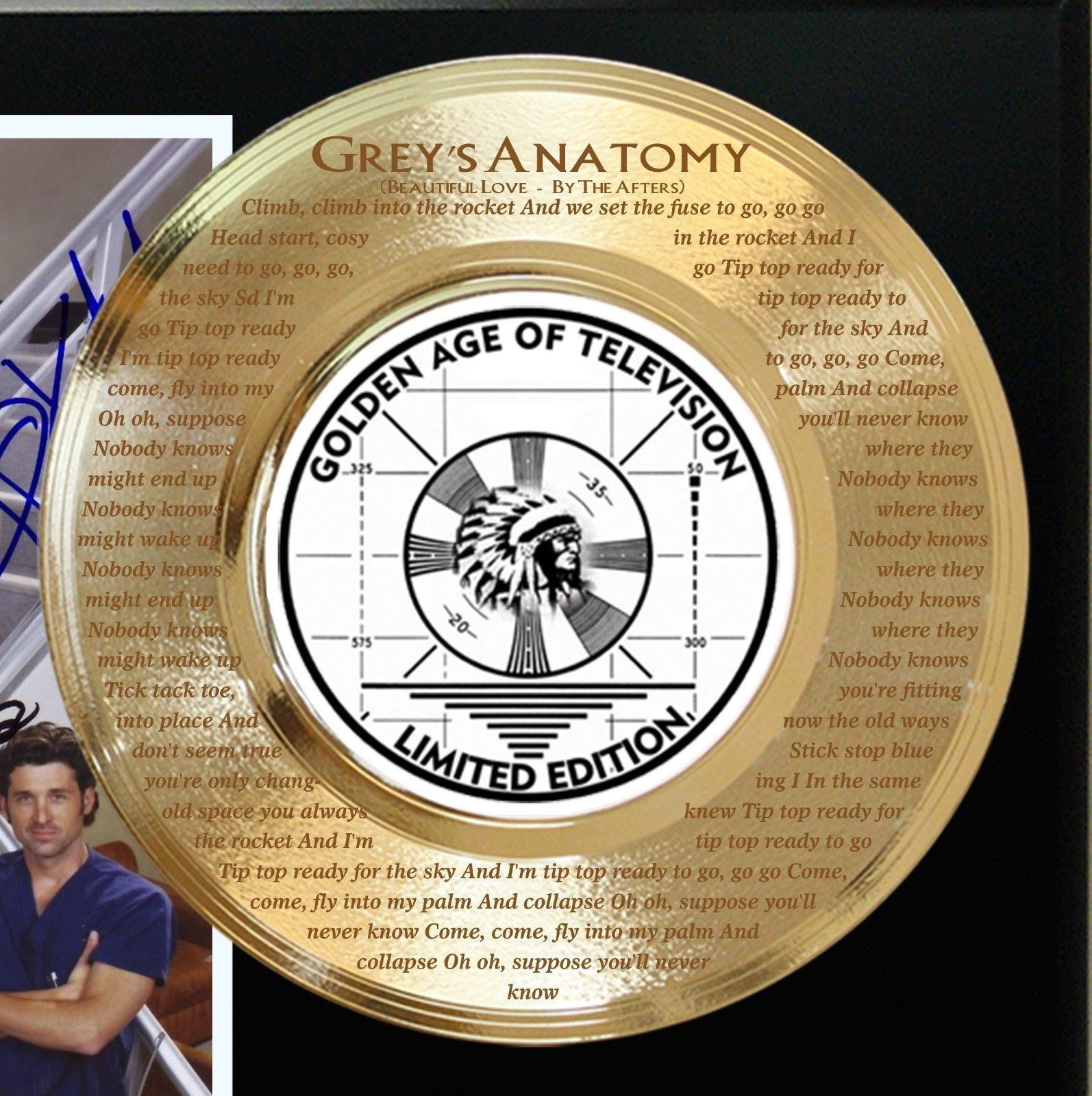 GREY'S ANATOMY LTD EDITION SIGNATURE AND THEME SONG SERIES ...