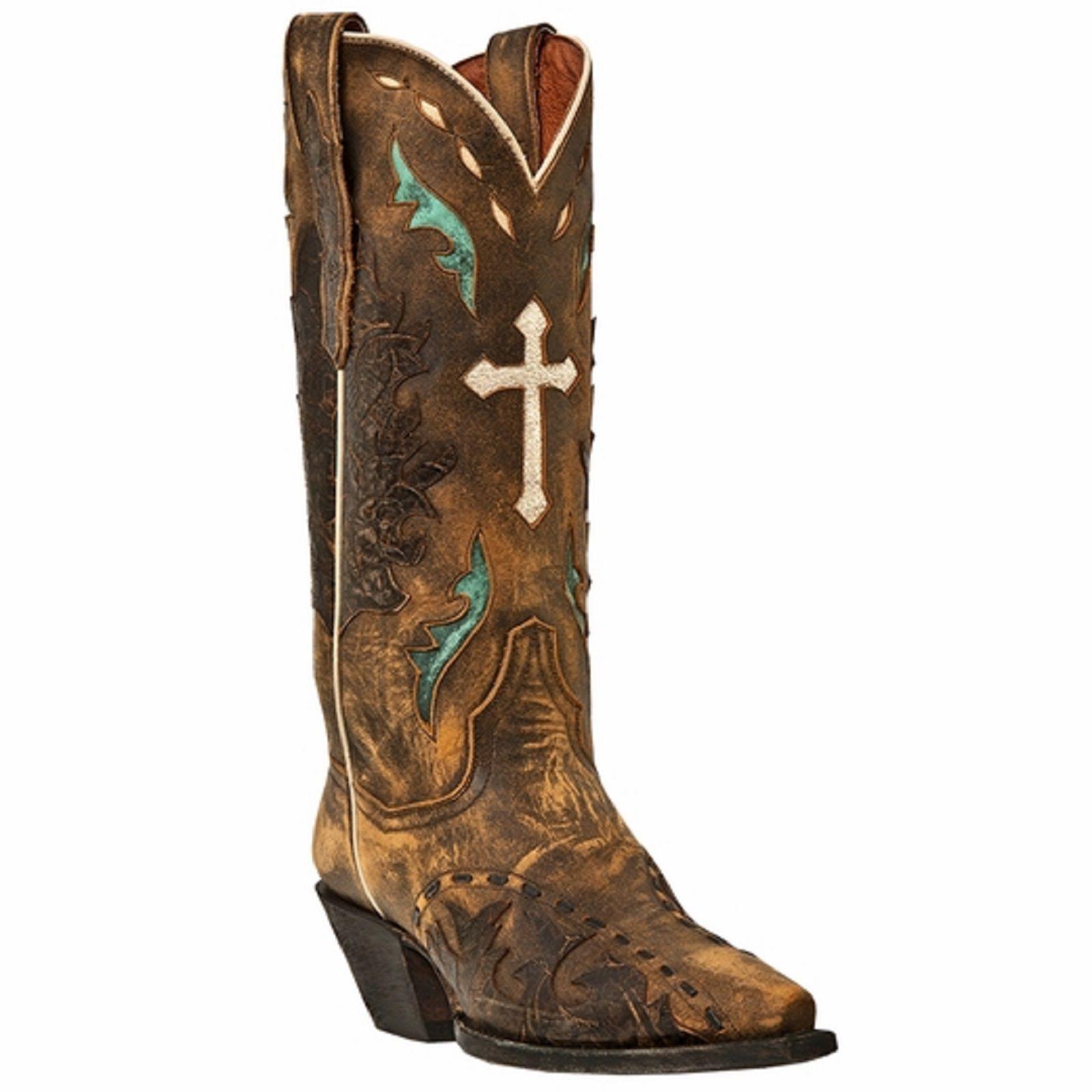 Dan Post DP3621 Women's Tan Anthem Western Boots - $262.99