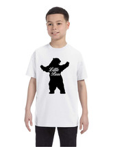 Kids T Shirt Little Bear Family Shirt Xmas Cute Holiday Gift - $10.94