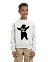 Kids Youth Crewneck Little Bear Family Shirt Xmas Cute Gift - $17.94