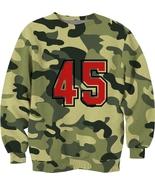 Green camo military 45 design sublimated full p... - $32.99 - $44.99