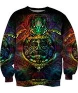 Ancient aztec psychedelic trippy hipie sublimat... - $32.99 - $44.99