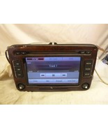 VW Volkswagen RCD-510 Touch Screen Radio 6 Cd & CODE 1K0035180AF PARTS ONLY - $123.75